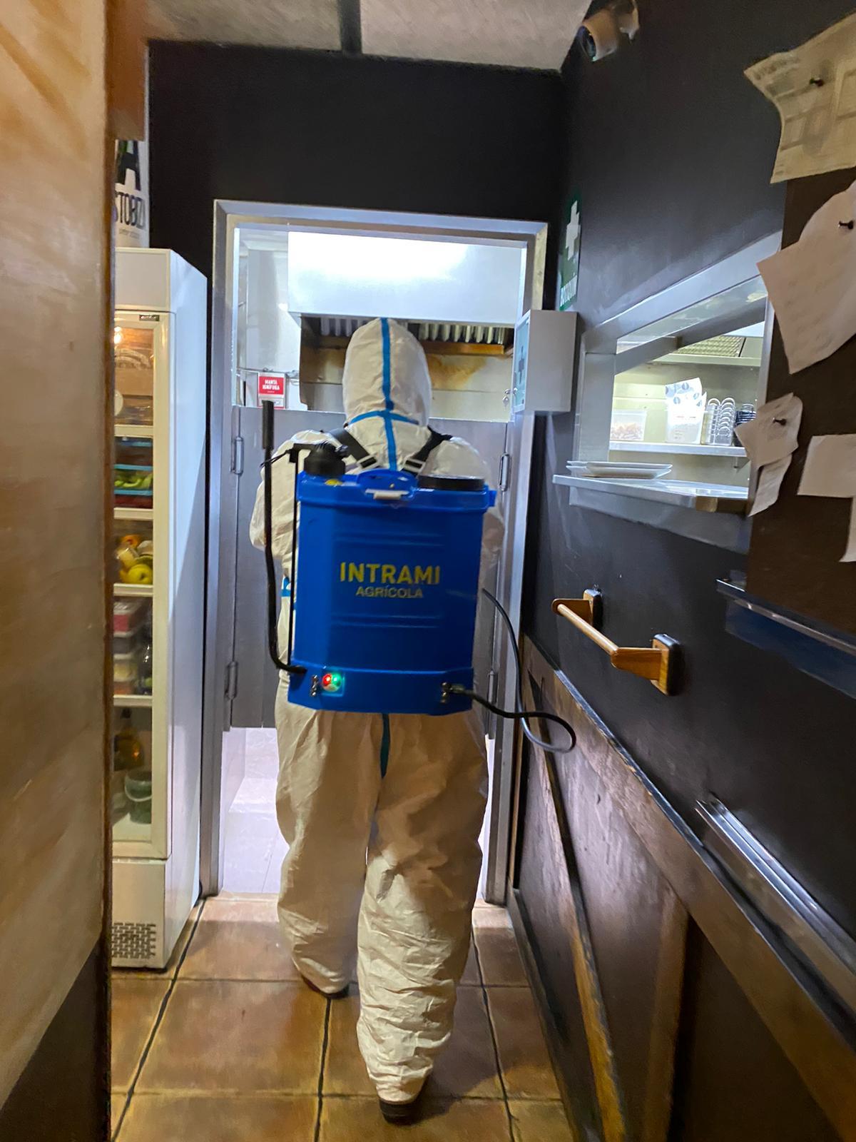 desinfeccion por coronavirus covid 19 en barcelona 2020